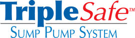 Sump pump system logo for our TripleSafe, available in areas like Coniston