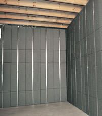 Thermal insulation panels for basement finishing in Elliot Lake, Ontario